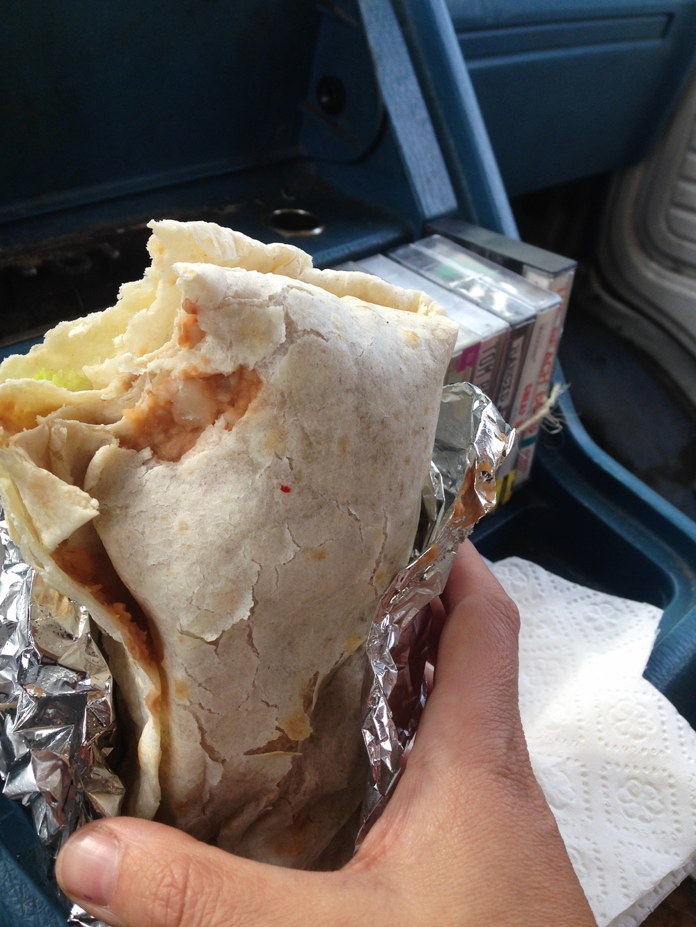 Hearty Veggie Burrito