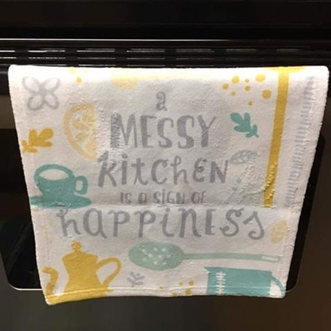 Real life hand towel! (Photo credit: Elli Reuland)