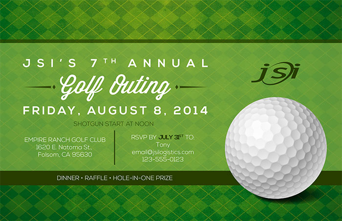 Annual Golf Outing Invitation