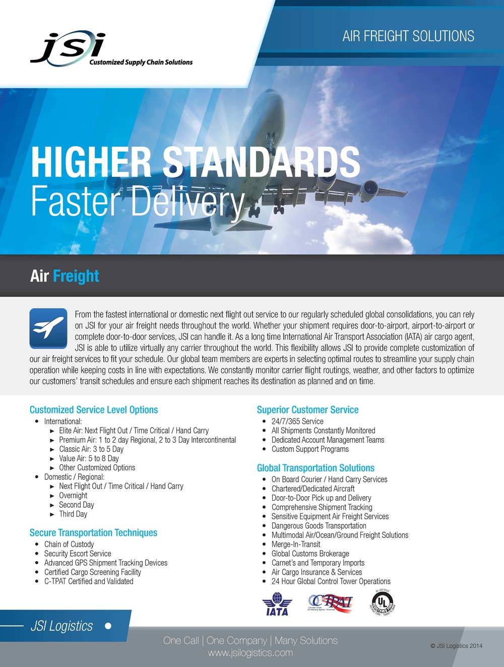 Air Freight Solutions Flyer
