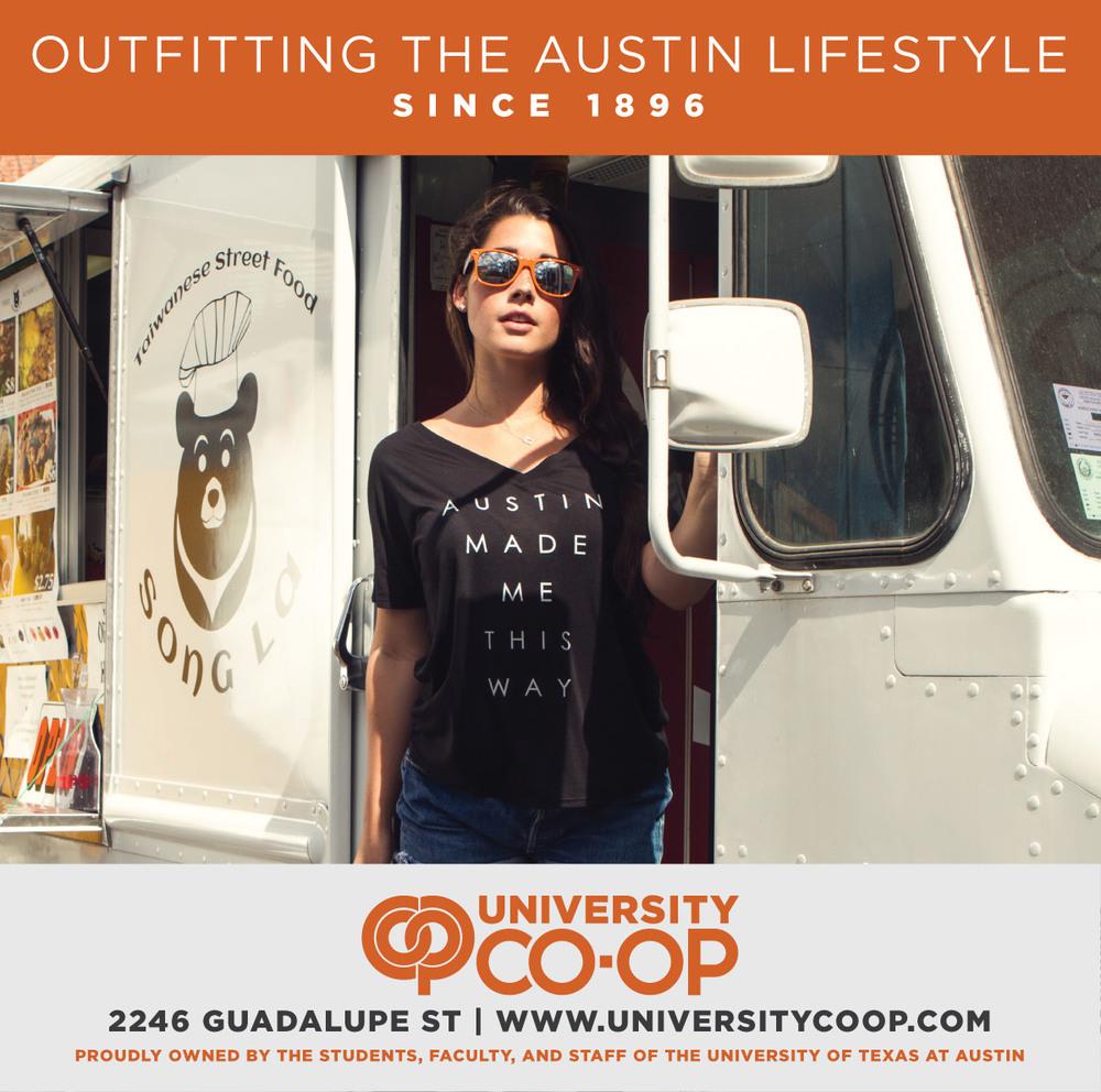 Austin Monthly Print Ad