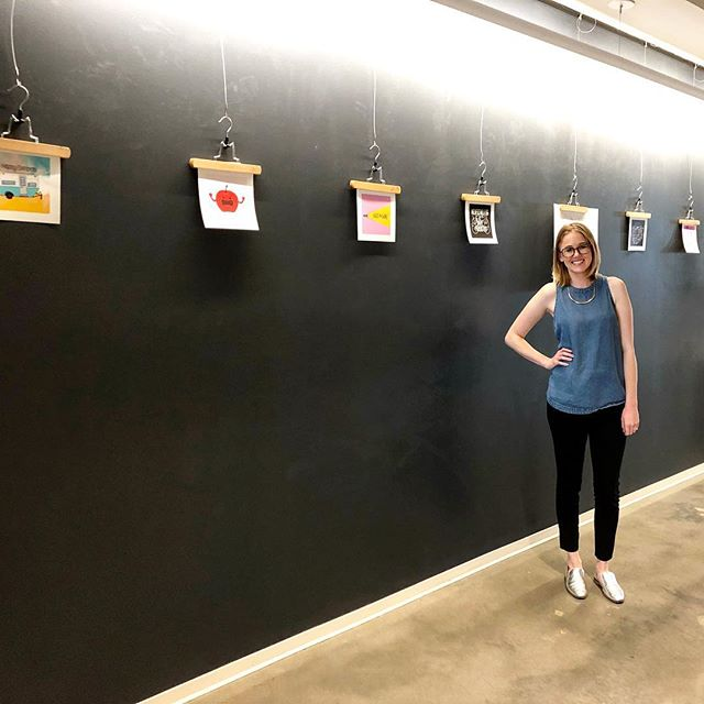 Just wrapped up a happy hour art show at @sapientrazorfish and met lots of awesome creatives!! My art will be up in their office for the next month! - #artshow #artist #artsy #happyhour #happyhourartshow #sapient #sapientrazorfish #artgallery #society6 #society6artist #society6art #gallery #designer #graphicdesign #graphicdesigner
