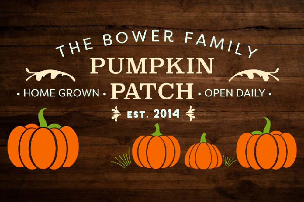 Custom Pumpkin Patch
