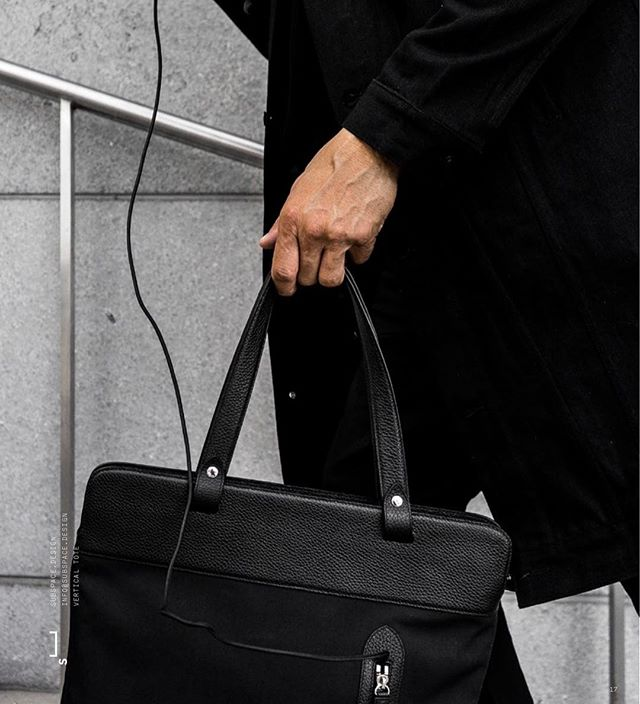 The Vertical tote. Link in Bio.  #subspacedesign