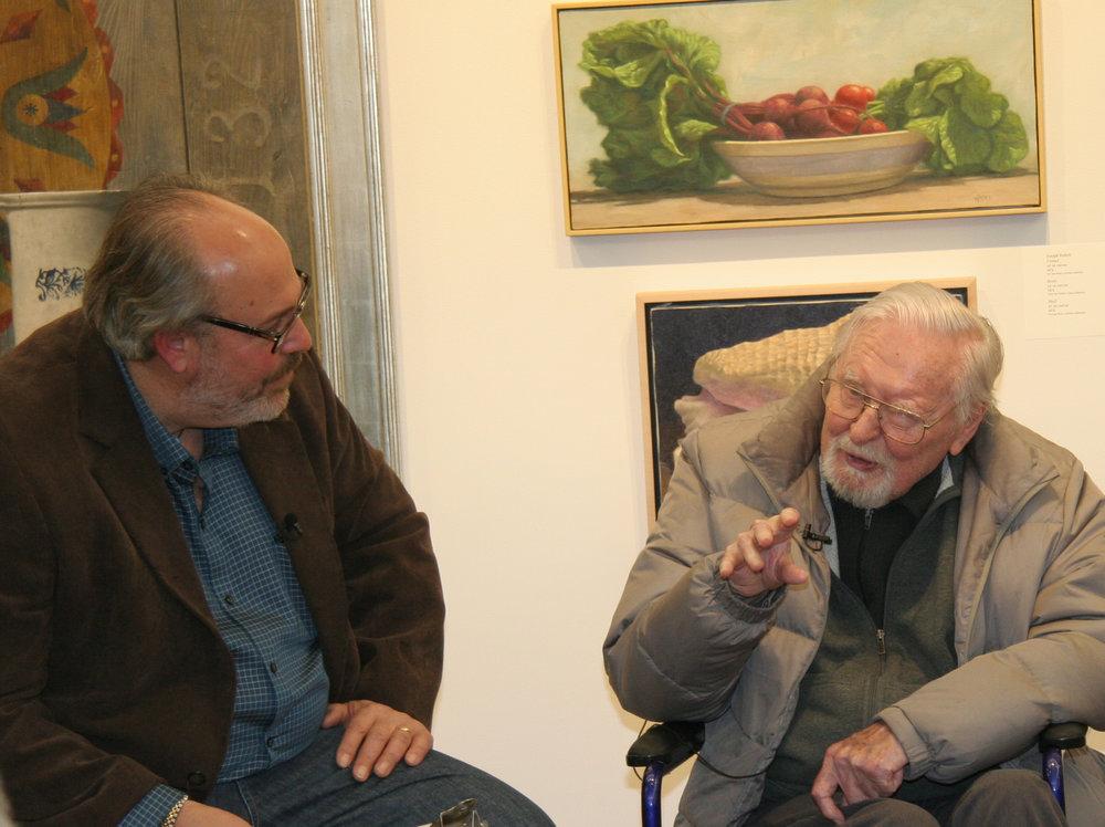 Doug Reina interviewing Ken Davies