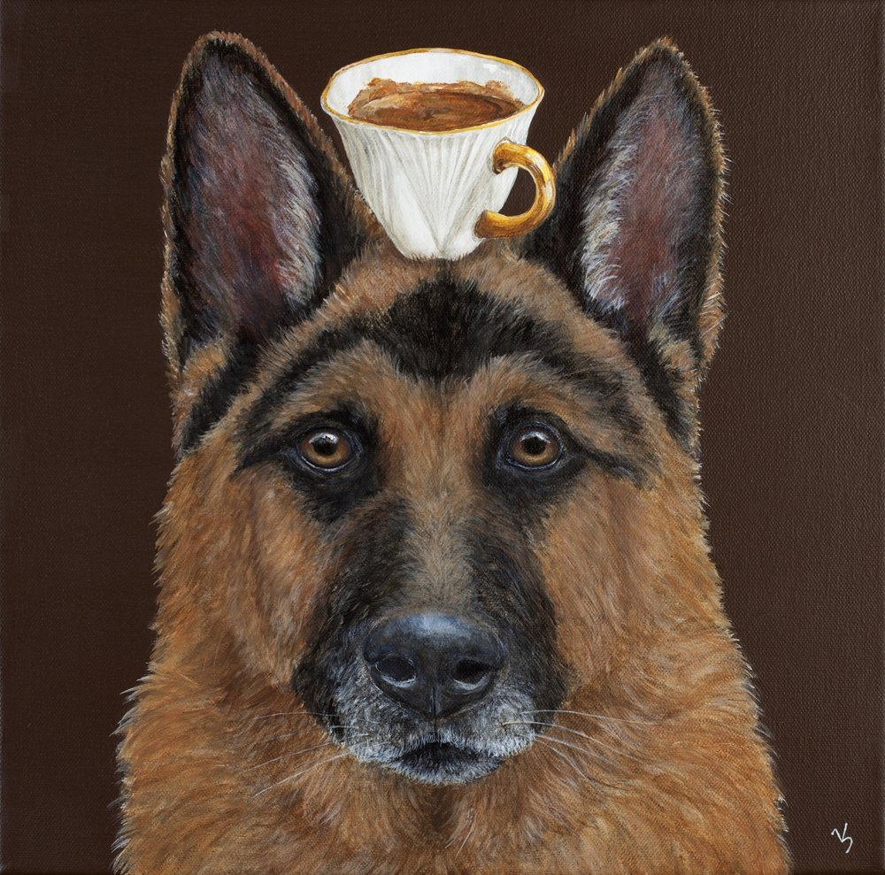 Guard of the Espresso 12x12.jpg