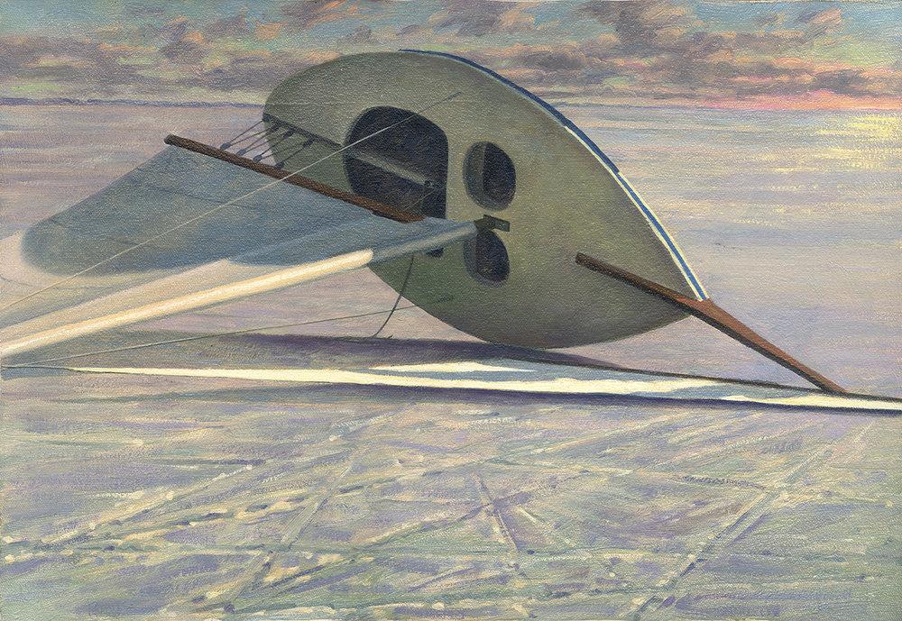 Ice Boat, 20 X 14