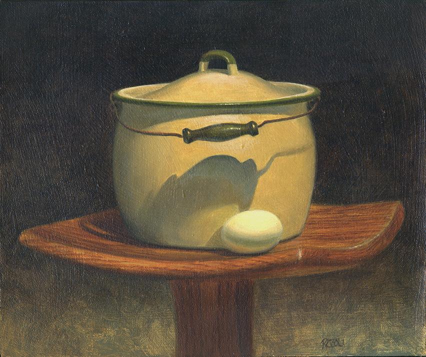 Pot Egg, 12 X 10