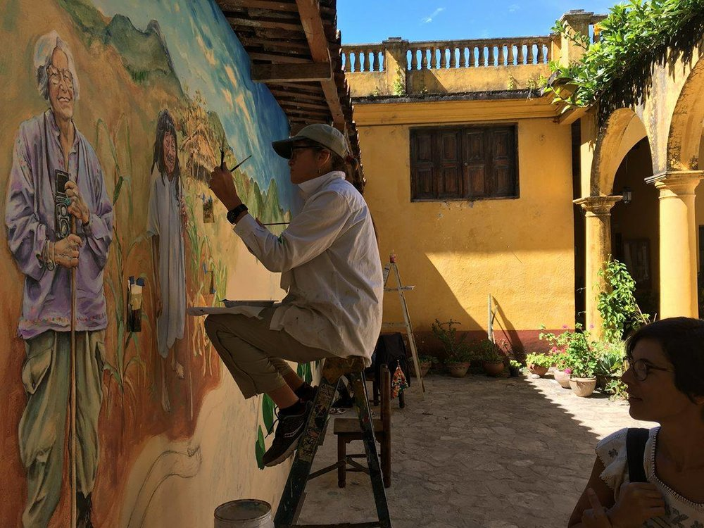 Painting mural on ladder  copy.jpg