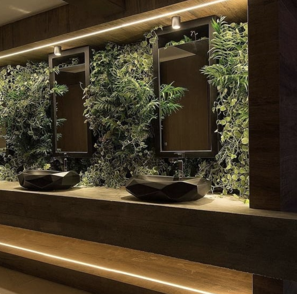 Example of a Biophilic Bathroom from  Extolondon