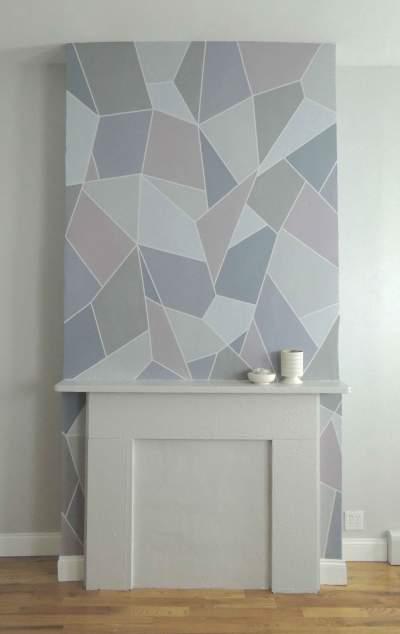 painted mosaic. bushwick.
