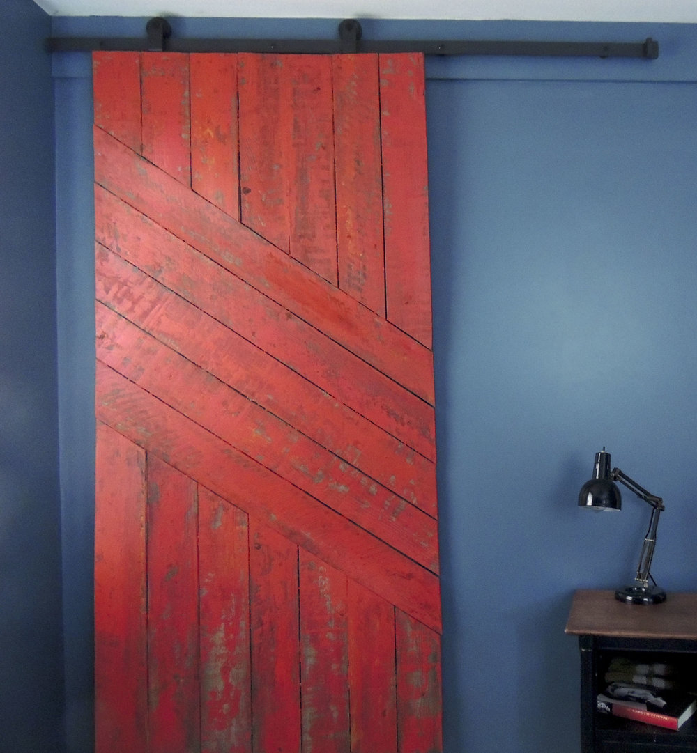 custom barn door. nashville.