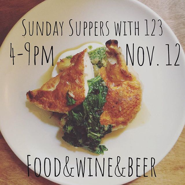 Comfort food and good times to be had here, every Sunday! #welcomeback