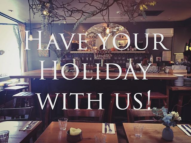 Hey fair folks! Celebrate the season here! Have your personalized small or large holiday party with us! Email or call for details!