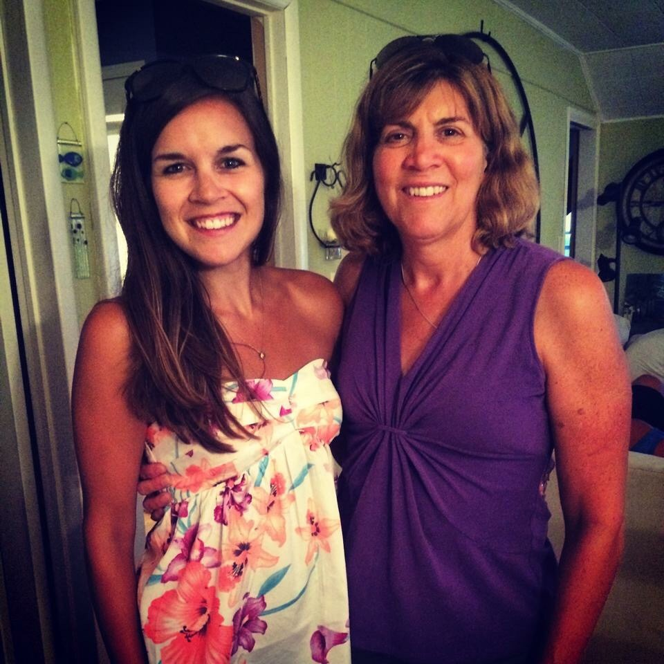 My beautiful mom DD and I