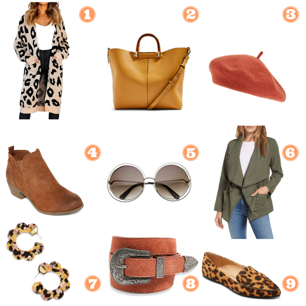 Fall Accessories under $45