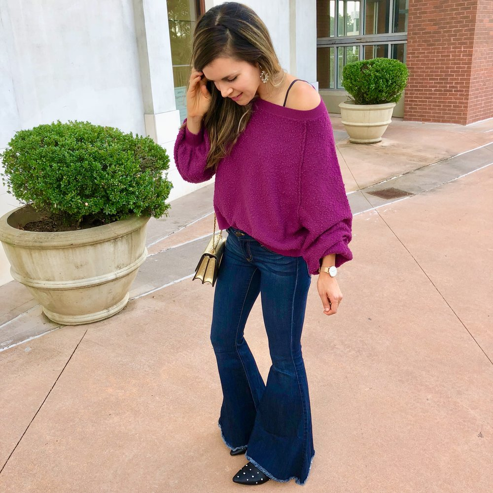 Free People top and flares
