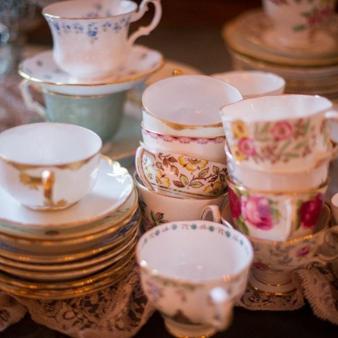 Vintage Teacups  |Qty: 250+
