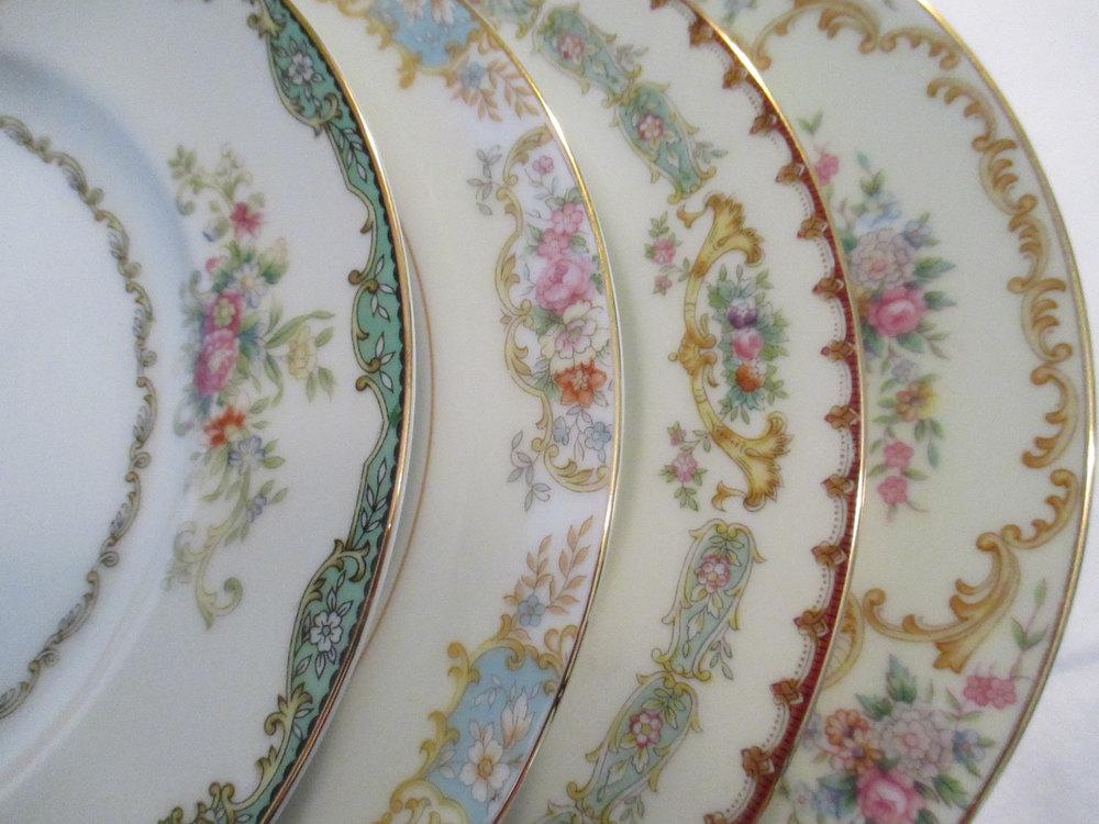 Vintage Mismatch Plates  | Qty: 250+