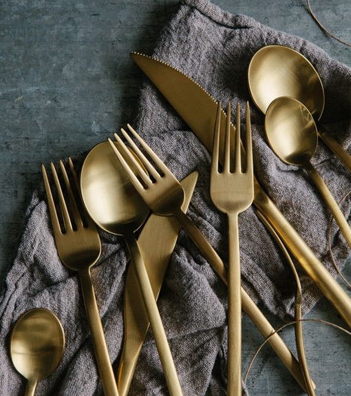 Gold Flatware | Qty: 300+
