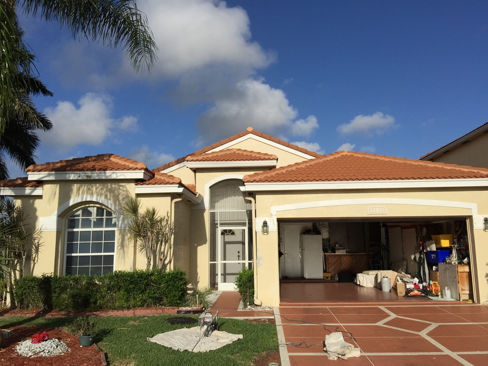 Delray Beach West Painting