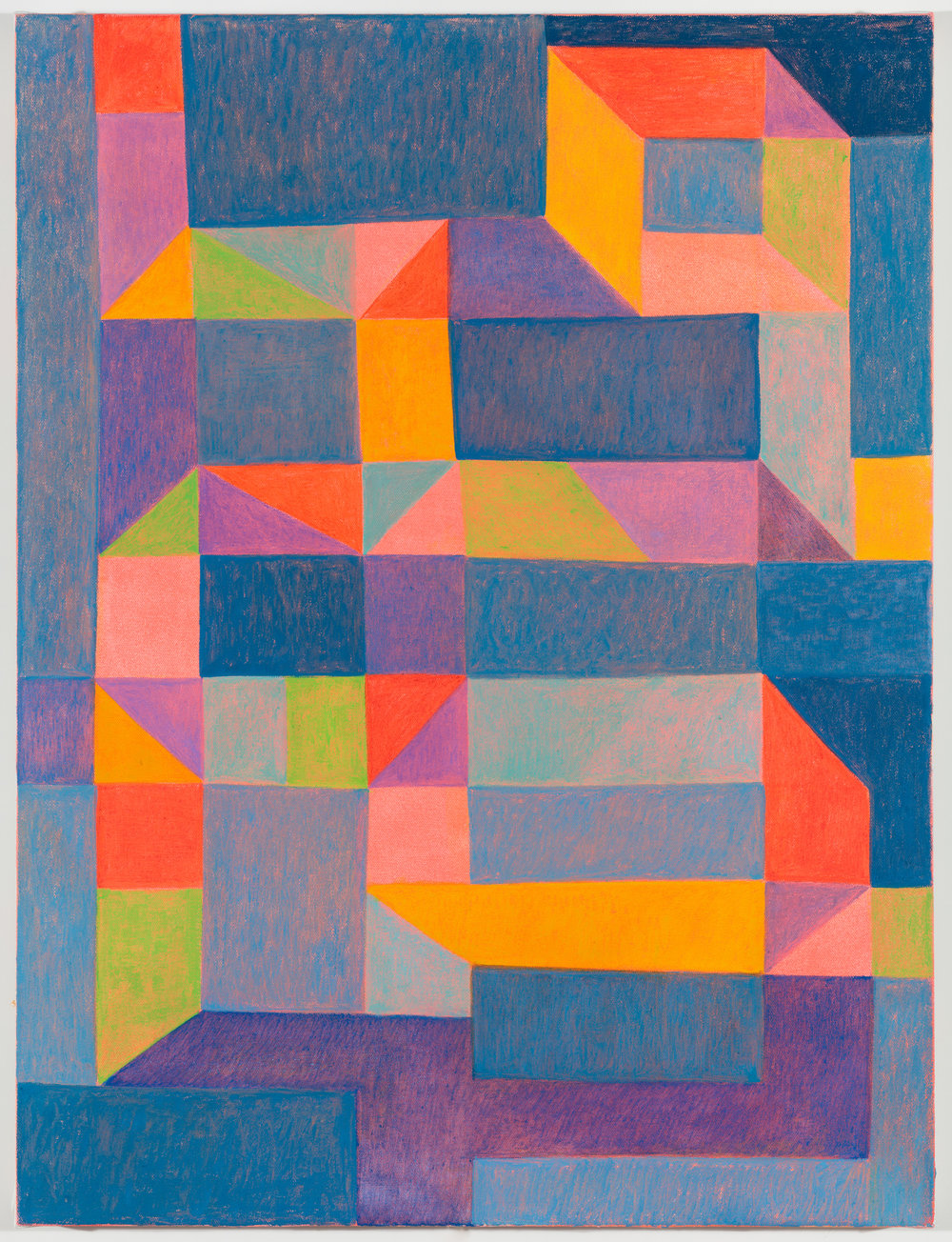 "Glyph  24""x20""  oil on canvas"