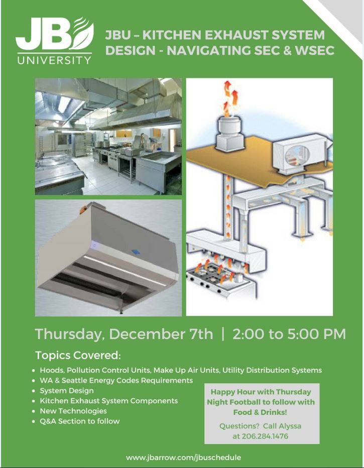 JBU KITCHEN EXHAUST SYSTEM DESIGN NAVIGATING SEC U0026 WSEC U2014 Johnson Barrow