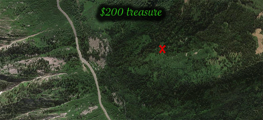 Treasure 7 map