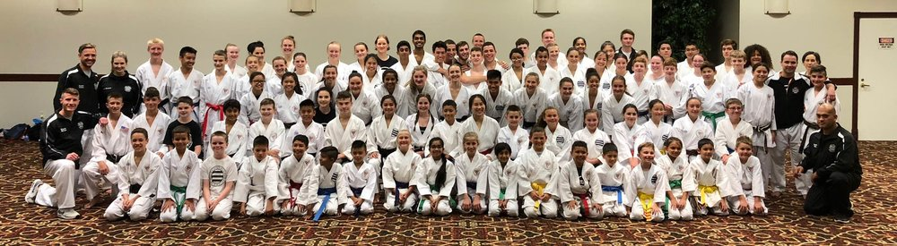 2018 National Competitors from ISKC after their final training before competing.