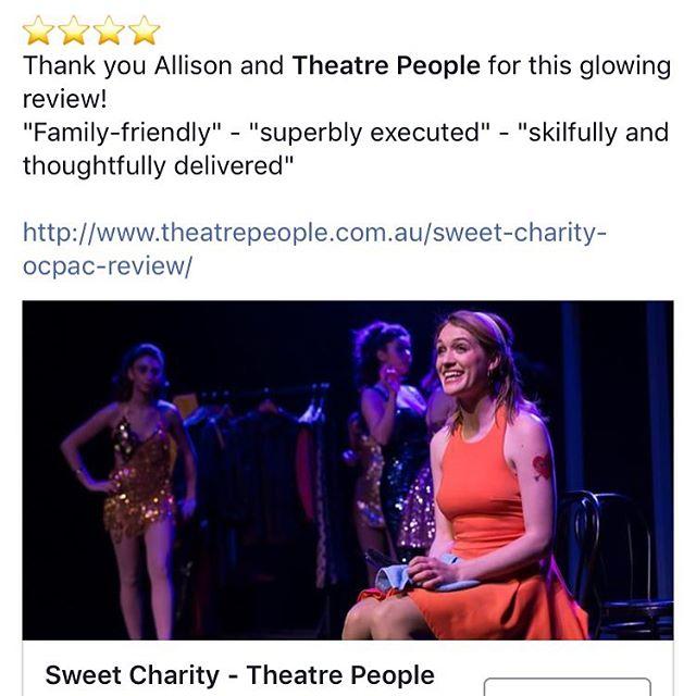 ⭐️⭐️⭐️⭐️ - Theatre People