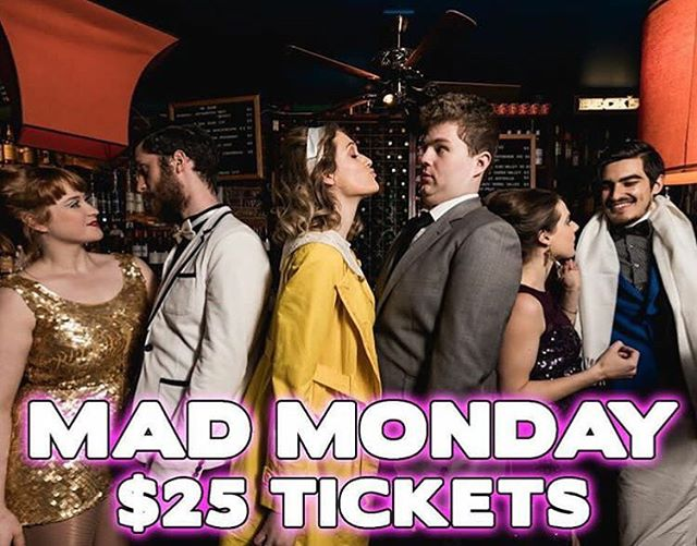 Did someone say $25 tickets? Yes you heard right, it's MAD MONDAY and all tickets to tonight's show are $25!! Get your tickets now - link in bio