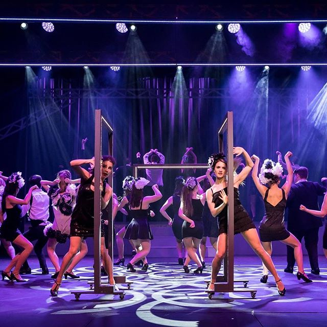 "What's that? We are back in the theatre tonight? With only four shows remaining, don't miss out on this ""superbly executed"" show! -K #ocpac #sweetcharity #tickets #booknow"
