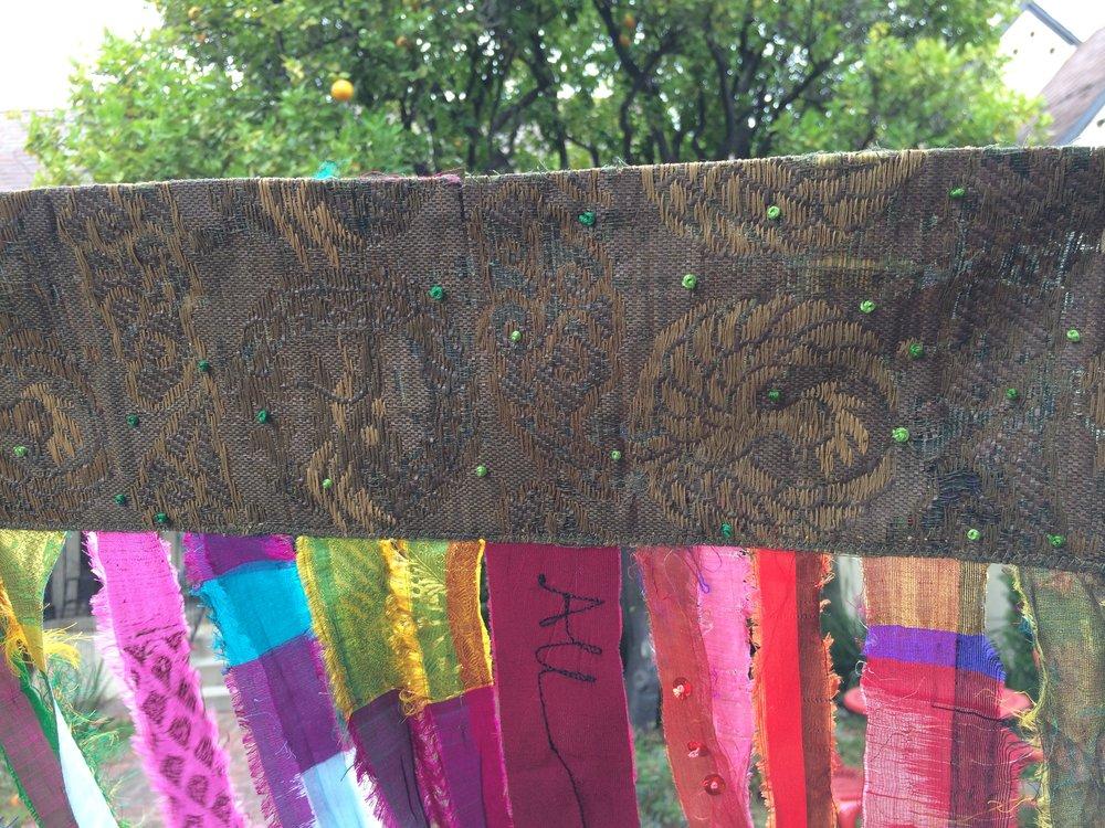Prayer Flag (banner detail)