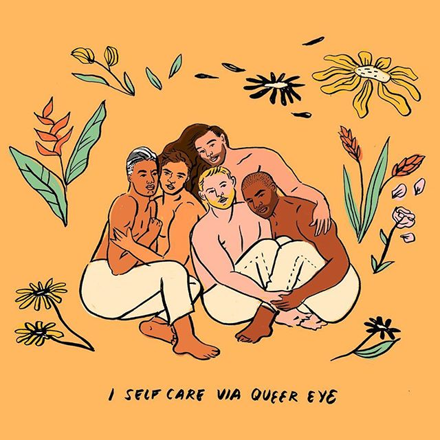 Queer eye is like chicken soup for the progressive soul and I am so thankful for it. Yaaas to season 3! @queereye