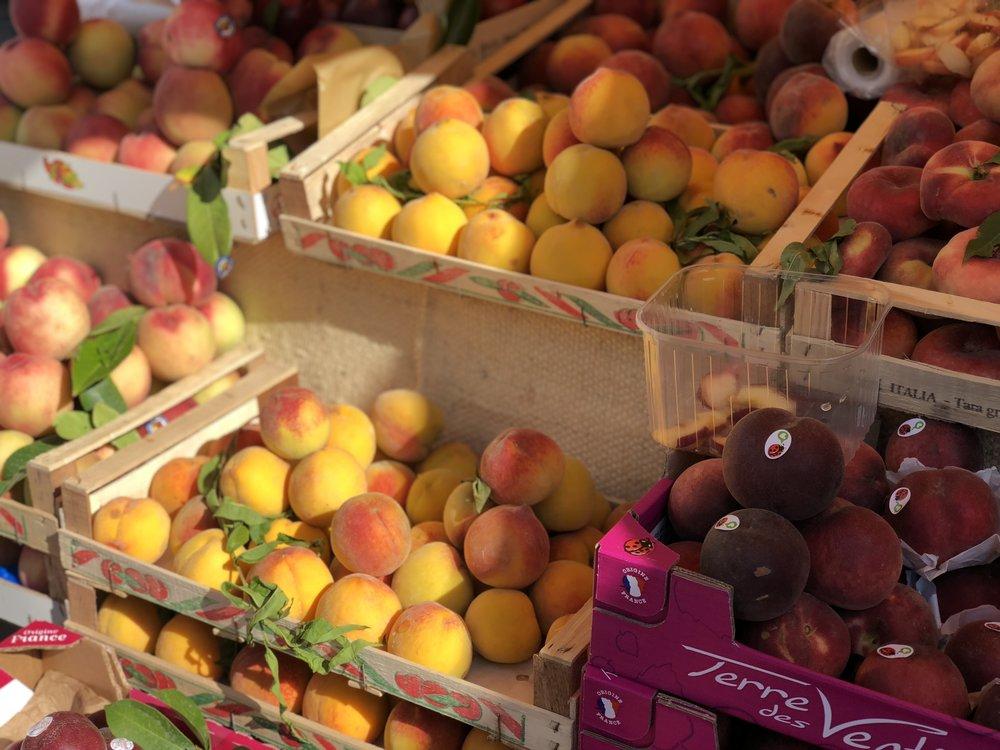 Summer Peaches Puntarelle & Co