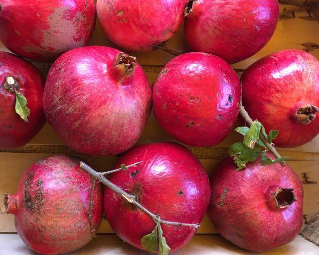 Sicilian Pomegranates    Photo ©Evie Saffron Strands