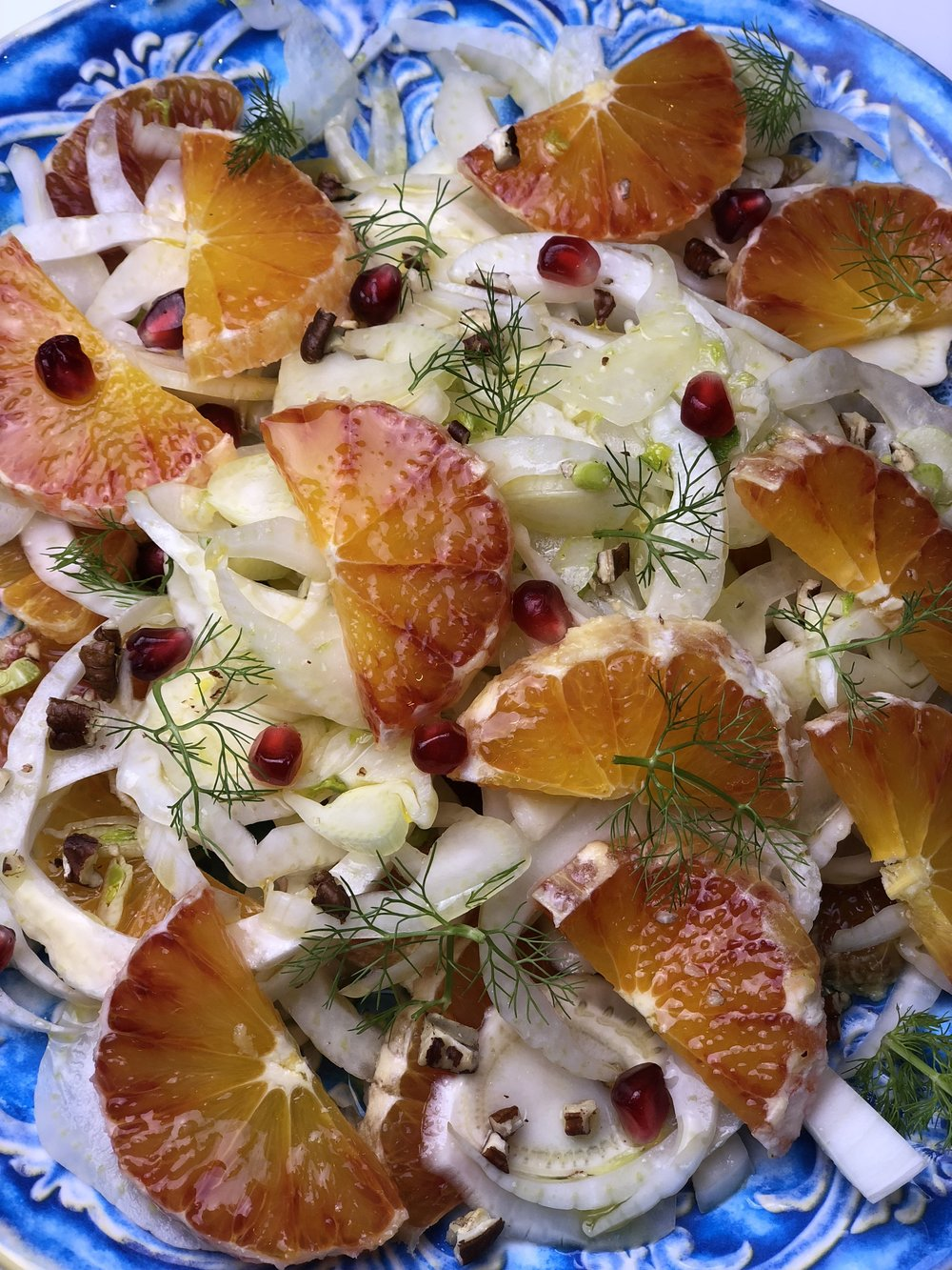 Fennel & Blood orange salad   Photo © Puntarelle&Co