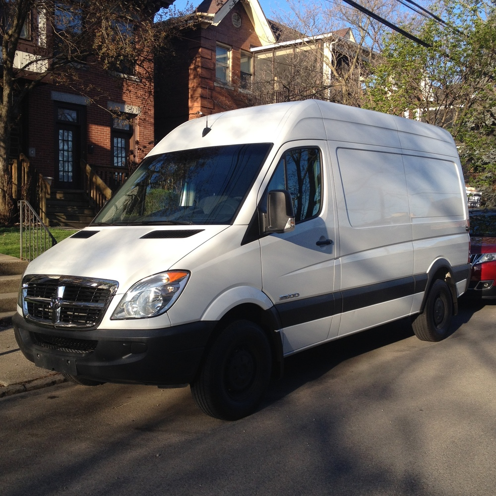 2008 Sprinter van with the 2500 chassis