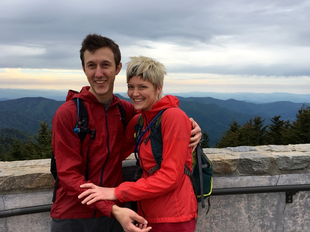 Tickles denied at the summit of Mt. Mitchell