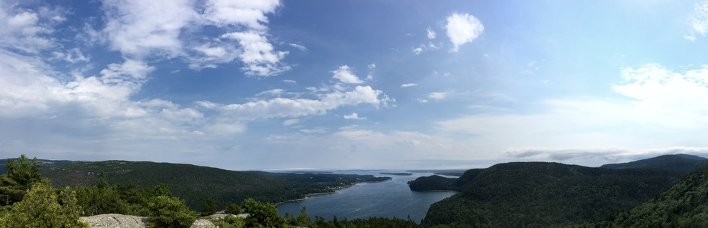 View from Acadia Mountain, 681ft
