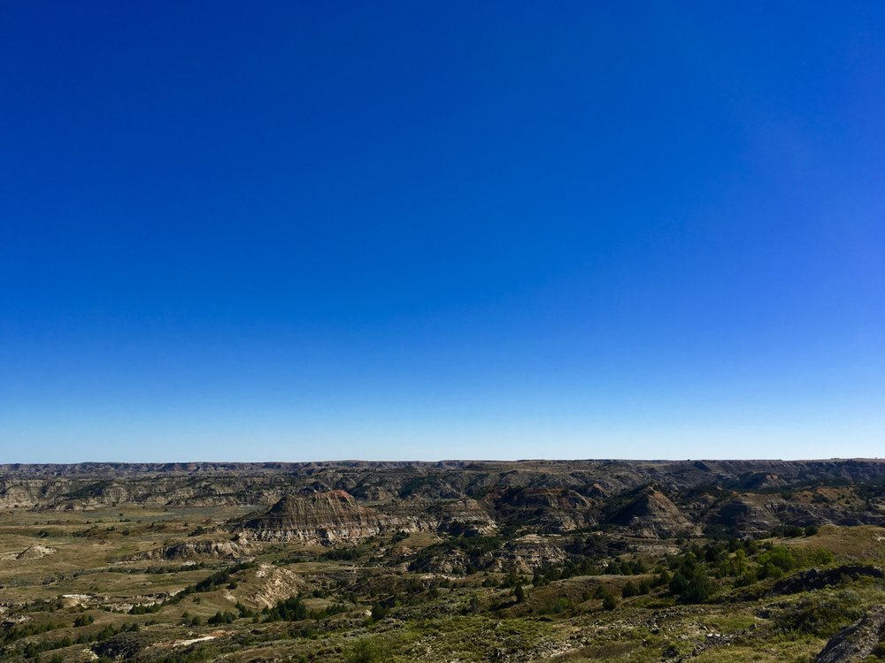 Teddy Roosevelt National Park. Stunning views. More on this in another post.