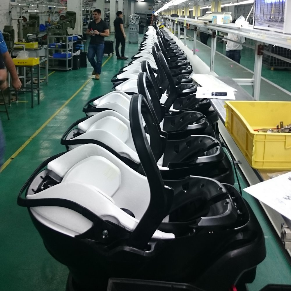 Early round of product at CM in China