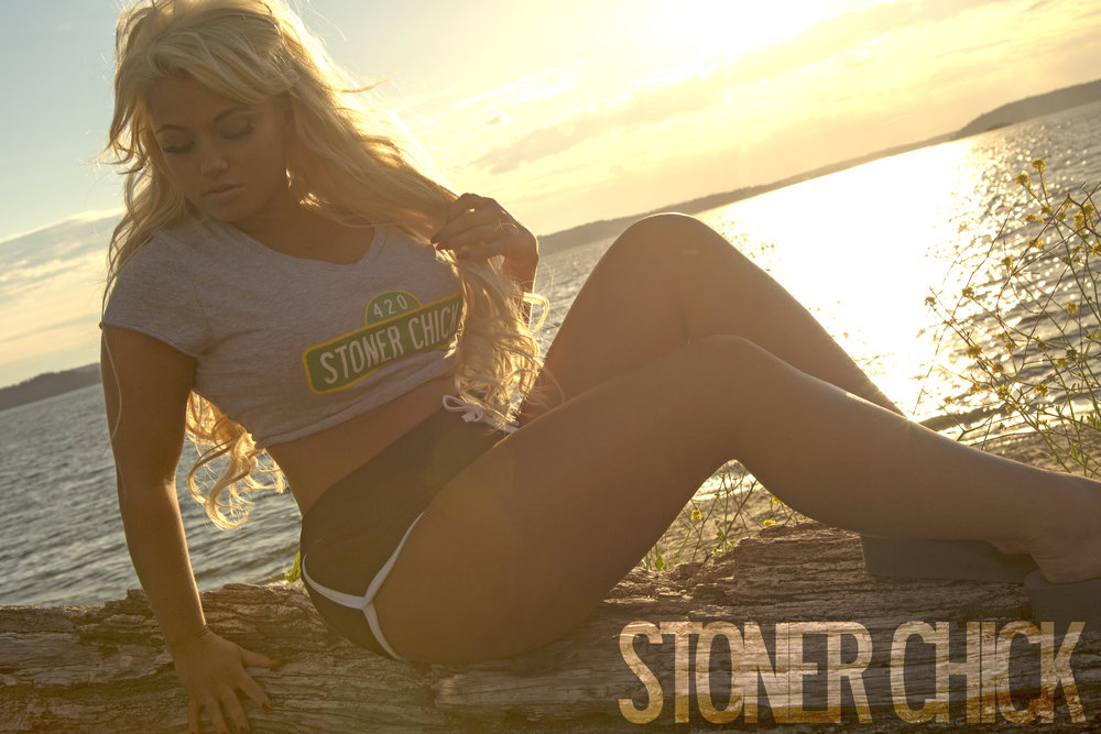 stoner chick SPOKESMODELS - Our dedicated team of avid female cannabis activists are not just internationally published spokesmodels but also very experienced in outside promotions, marketing and customer acquisition. Let Stoner Chick Brand showcase your brand or products, the proper way that's on point with high quality presentations.