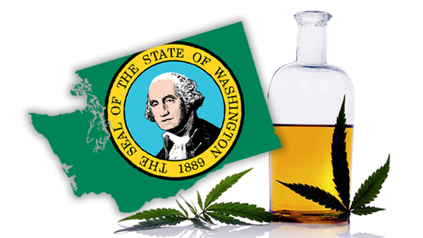 thankfully in washington state - recreational use of medicinal marijuana is legal.
