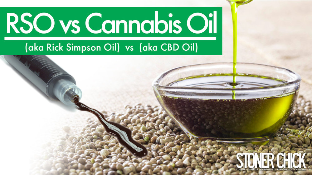 - CBD Oil and Rick Simpson Oil are both receiving attention. However, there is some confusion surrounding CBD oil, and how it is related to Rick Simpson Oil.