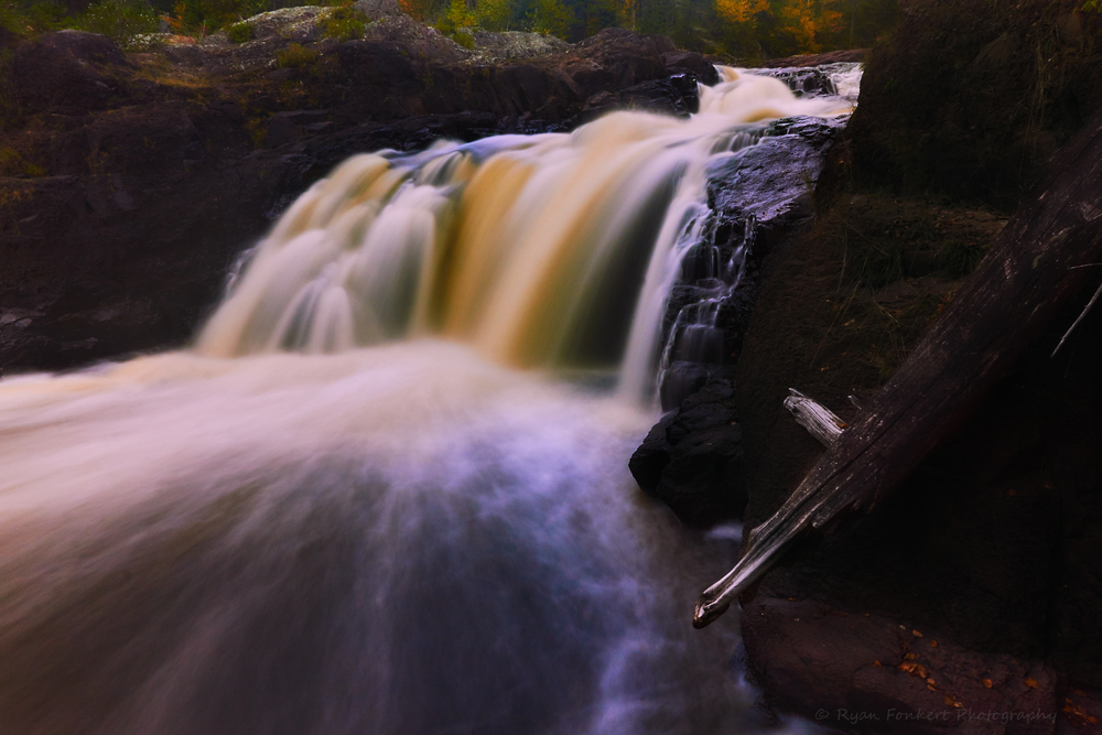 Upper Falls on the Brule River