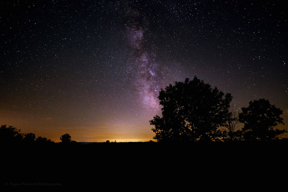 Milky Way Over Frontenac State Park