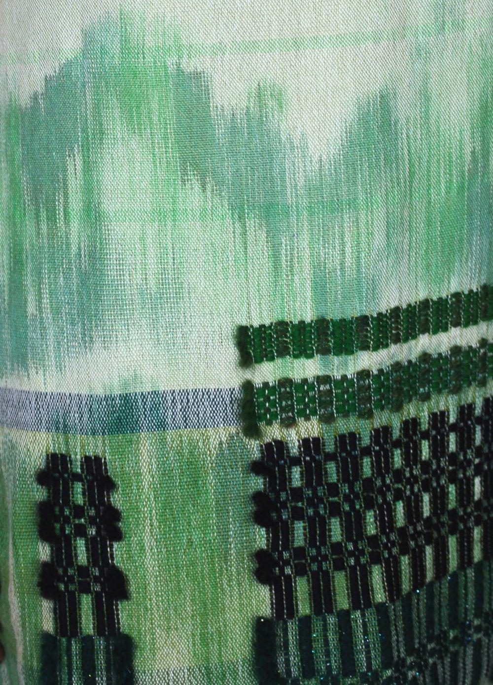 Appalachian Jungle Dress detail