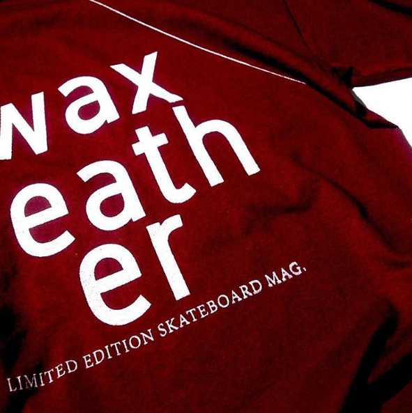 Due to high demand, we've handscreen printed this again in limited numbers and now available in white print on Burgundy Tshirt. For order and enquiries, email to info@waxfeathermagazine.com or purchase online via dunescollective.com.