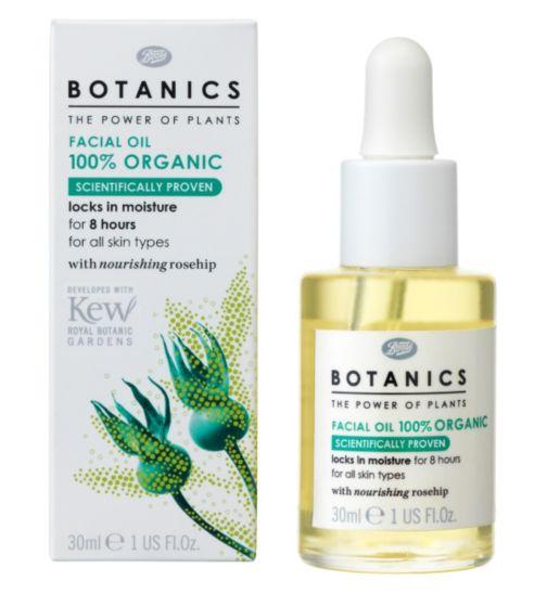 Botanics Organic Facial Oil, £6.66
